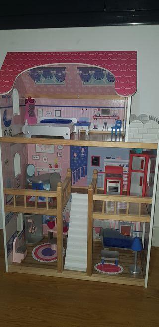 Casa Barbie para Muñecas
