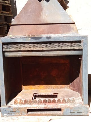 chimenea, barbacoa, bbq 110cm
