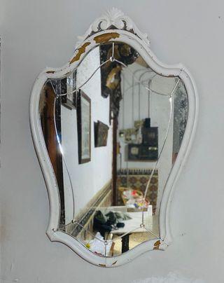 Espejo vintage madera