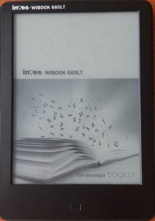 Libro electrónico Ereader Inves Tagus 660LT