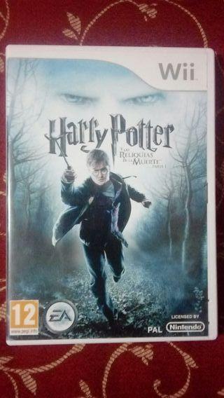 Harry Potter y las relíquias de la muerte 1 Wii