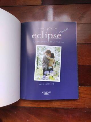 Eclipse Libro oficial de la película.