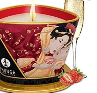 Vela para masajes Shunga