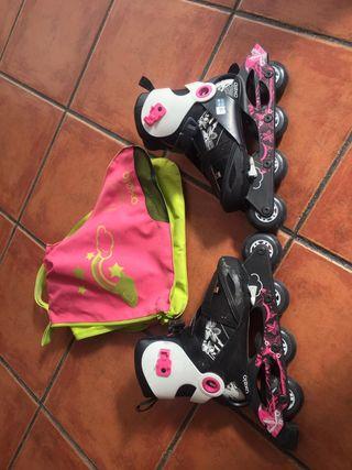 patines en linea de niña
