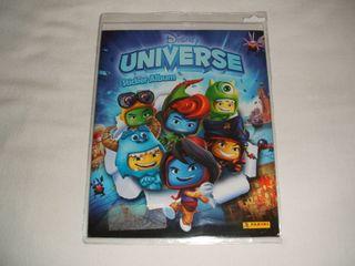 Álbum de cromos nuevo y vacío Disney Universe