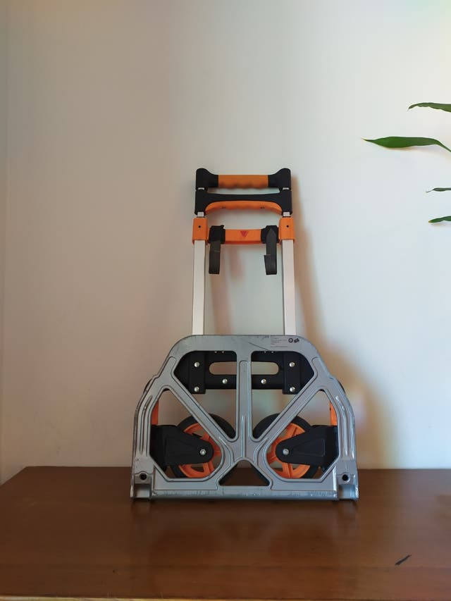 Carretilla De Aluminio Plegable Para Cargas 100kg