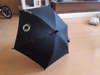 Sombrilla carrito bugaboo fox universal negra.