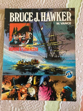 Cómic Bruce J. Hawker Rumbo a Gibraltar