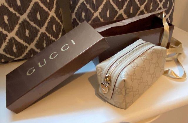 Gucci make up bag