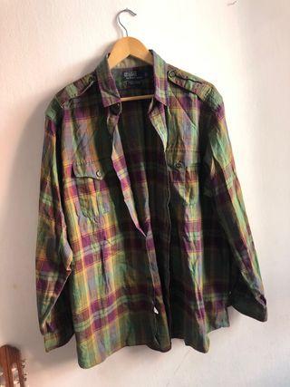 Camisa vintage de Polo Ralph Lauren talla XL
