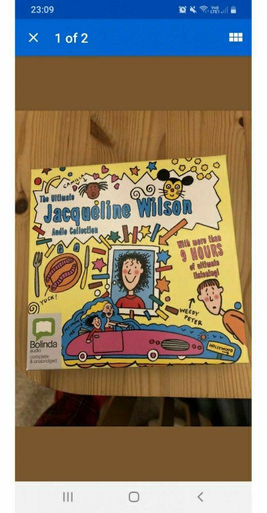 Jacqueline Wilson audio books
