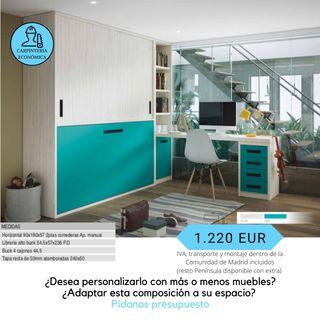 Conjunto mueble infantil juvenil - catalogo 3