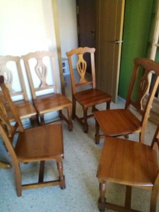 Conjunto 6 sillas