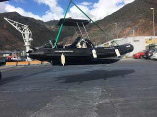 Barco, Semirrígida, bombard, lancha