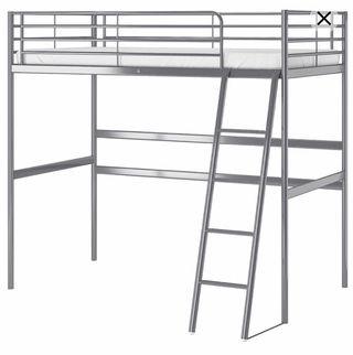 Estructura cama alta Ikea