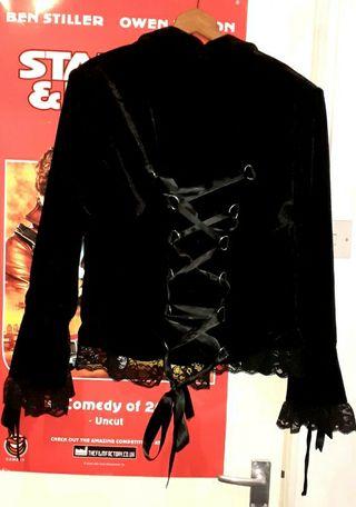 handmade corset jacket