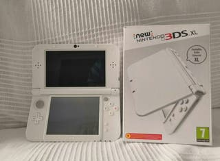 New Nintendo 3ds Xl Blanco Perla