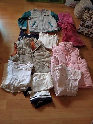 lote ropa niña 7,8