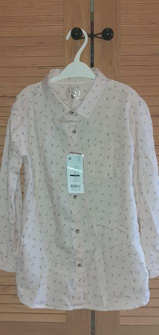 camisa niña 7-8 años