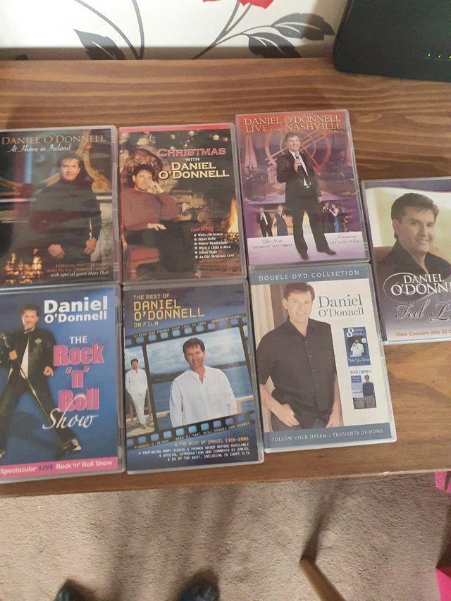 Daniel o'donnell dvds