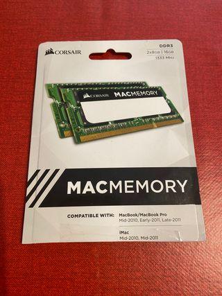 Memoria RAM Corsair para Mac 16GB 1333Mhz