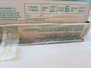 7 paquetes baldosa porcelanica
