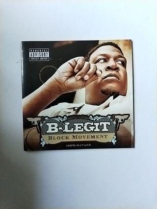 Hip-Hop/R&B B.Legit-Block Movement