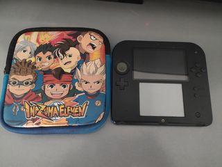 Nintendo 2ds + Funda Inazuma Eleven