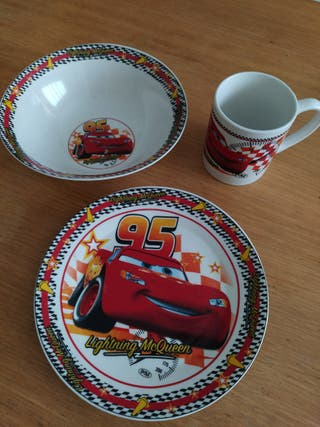 Juego cerámica Cars