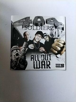 Hip-Hop/R&B 404 Soldierz-All Out War