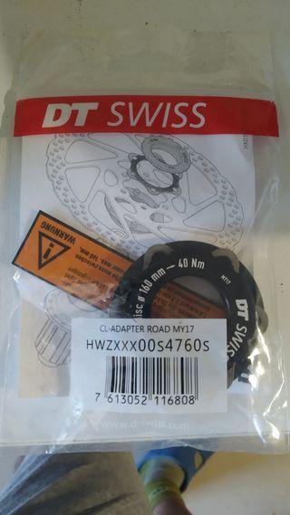 adaptador dtswiss centerlock