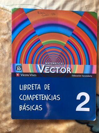 Libro Matemáticas 2º ESO Competencias Basicas