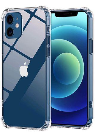 3 cristales, 1 funda, 1 funda cordón iphone 12