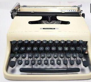 maquina de escribir OLIVETTI antigua vintage