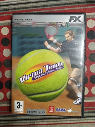 juego pc cd virtual tenis