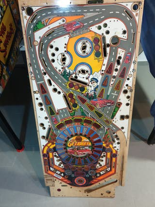 playfield original Pinball Getawey