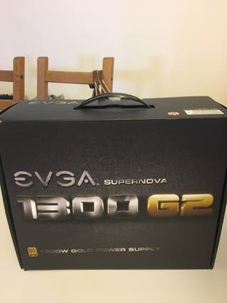 2x evga supernova 1300w g2 gold power supply