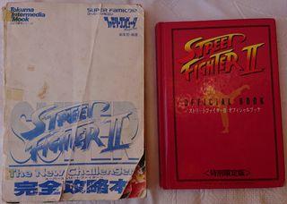 libros street fighter 2 Nintendo famicon Ryu Ken