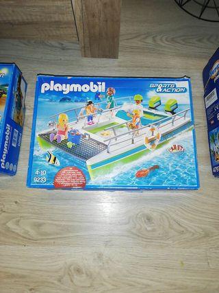 Lancha playmobil