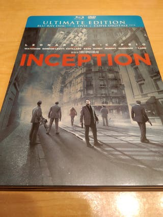 Steelbook. Inception. Bluray