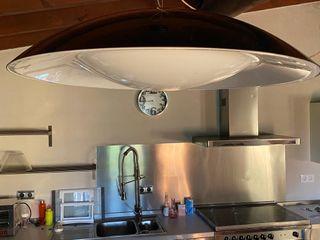 Lámpara de techo del fabricante italiano Kartell