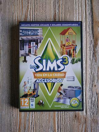 Extra Los Sims 3 Vida en La Ciudad Accesorios