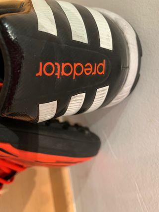 Botas fútbol Adidas suela mixta número 42