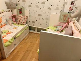 Habitación gemelar bebé