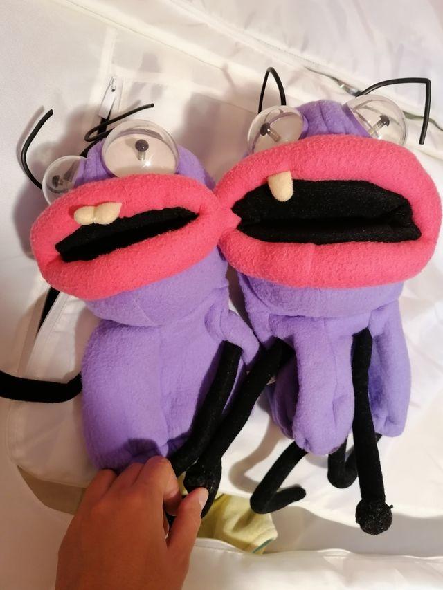 Marionetas de trancas y barrancas