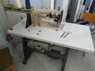 Máquina de coser Pfaff triple arrastre