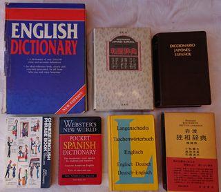 diccionarios chino inglés alemán japonés idioma