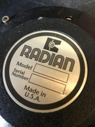 "Motor compression driver radian 745pb 1. 5"""