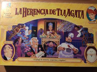 Juego La herencia de la tía Agata