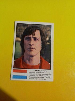 cromo Johan Cruyff mundial 74